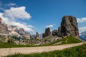 Une belle journée dans les Dolomites. sur Ton Tolboom