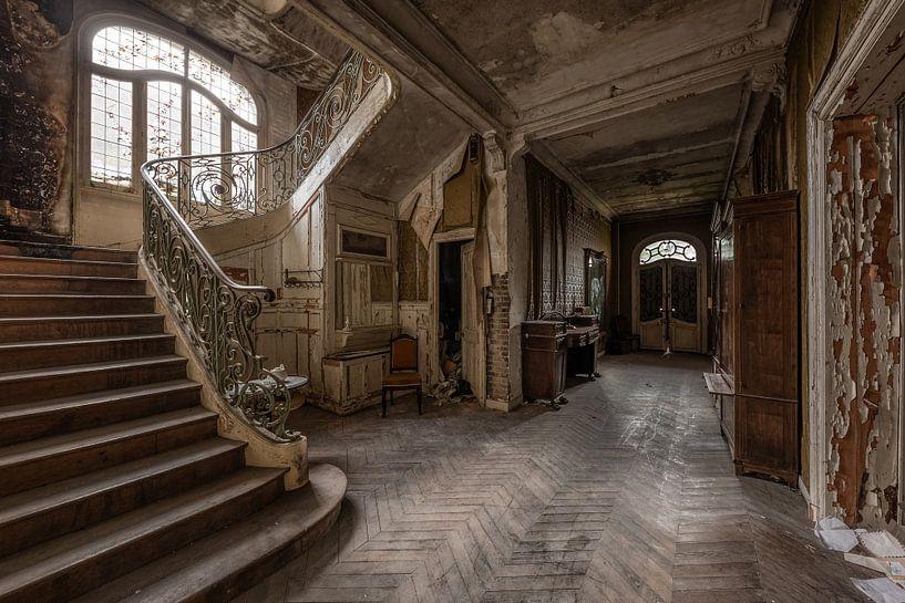 Verlassener Korridor von William Linders