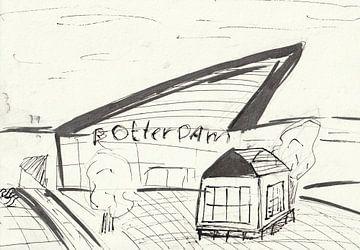 Rotterdam Zentral von Jerzy Beerepoot