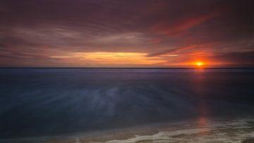 Sunset von Bas Van Ooijen