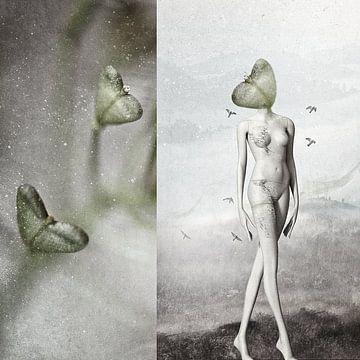 Elegante harten mannequin van Monique Holterman