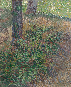 Vincent van Gogh, Unterholz