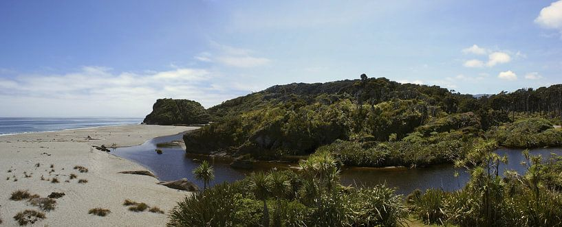 West Coast paradise - Nieuw Zeeland van Jeroen van Deel