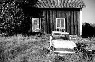 Autowrak in Zweden von Rob van Dam