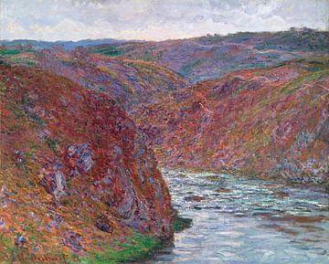 Tal der Creuse (Grauer Tag), Claude Monet