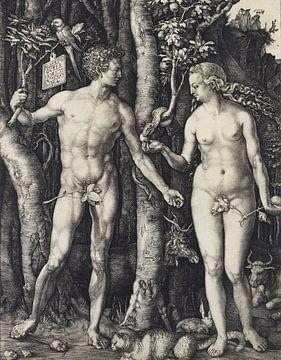 Albrecht Dürer.Adam und Eva