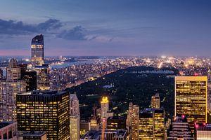 New York    zum Sonnenuntergang