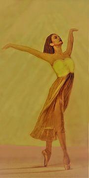Ballerina van Frans Klijzen