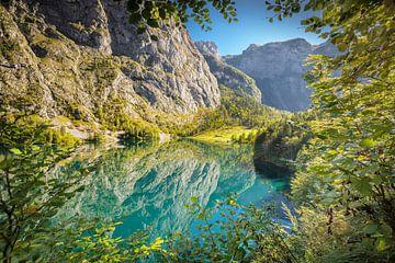Obersee in het Berchtesgadener Land van Markus Lange