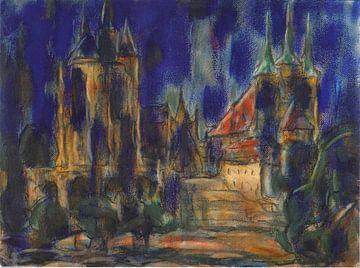Dom und Severikirche, Christian Rohlfs von Atelier Liesjes