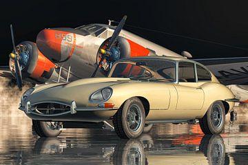 Jaguar E-Type - ein legendärer Sportwagen von 1960