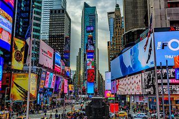 Times Square van Jack Swinkels