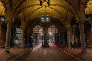Fahrradtunnel unter dem Rijksmuseum von Gerard Koster Joenje (Vlieland, Amsterdam & Lelystad in beeld)