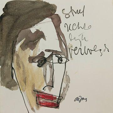 Michiel, portret, avatar van Leo de Jong