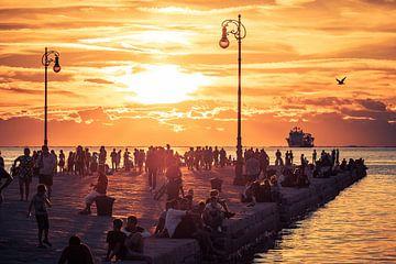 Trieste - Molo Audace van