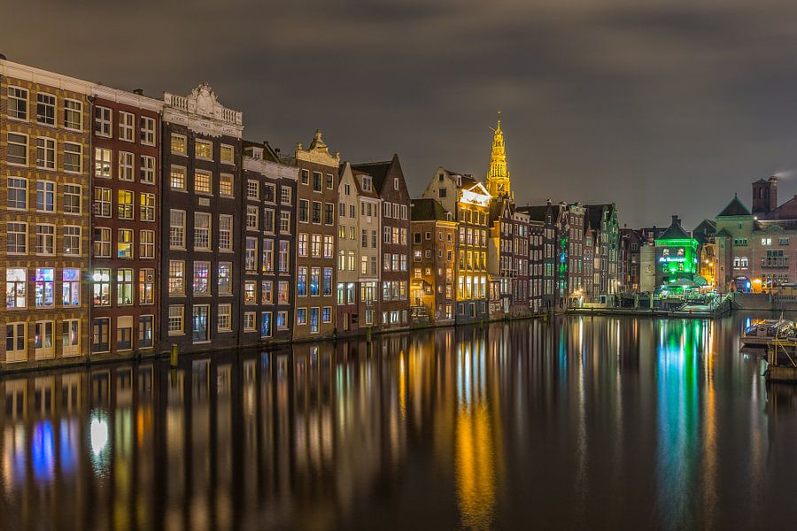 Amsterdam by Night - Damrak - 2