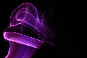 Smoking Purple with Red