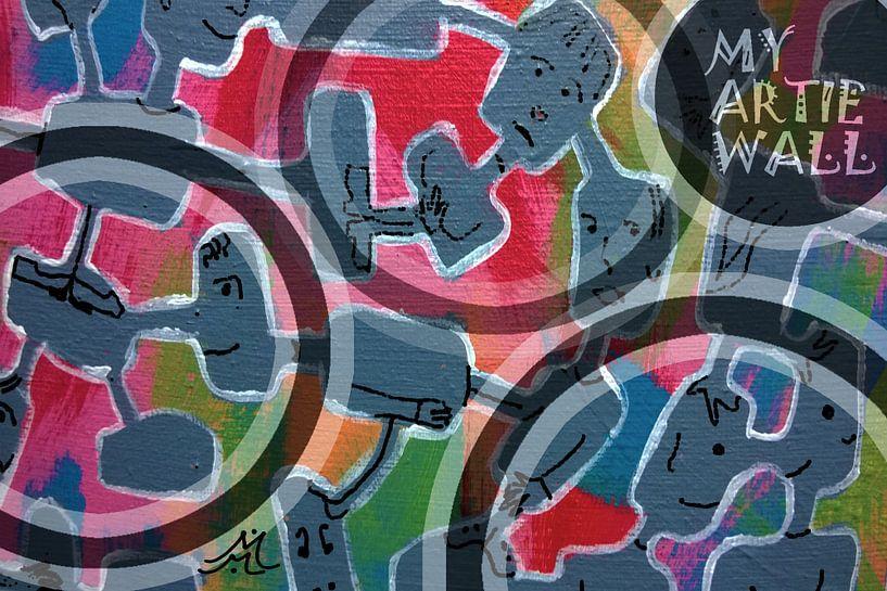 THIS ONE'S FOR MY ARTIE WALL van Marijke Mulder