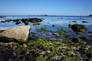 Niedriges Wasser in der Bretagne von Sandra van der Burg