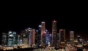 Skyline von Singapur von Rens Roosloot