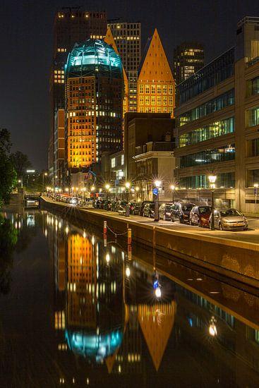 Den Haag Centrum @ Night van Jack Tet