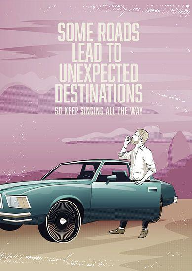 Unexpected destinations van Wilco Hoekman