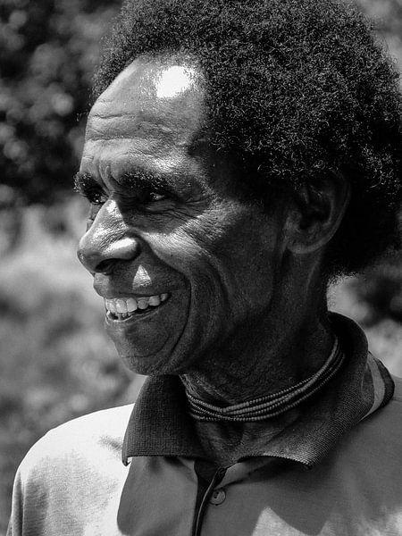 Villager in the Baliem valley van Global Heartbeats