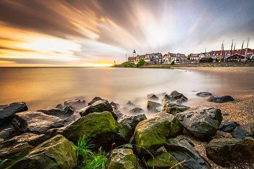 Een zonsondergang aan het IJsselmeer van Fotografiecor .nl