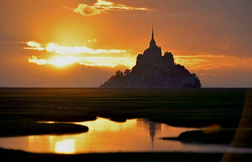 Le Mont Saint Michel van Abe Maaijen