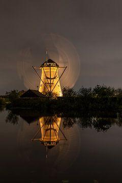 Rotierende Windmühle von Cécile den Ouden