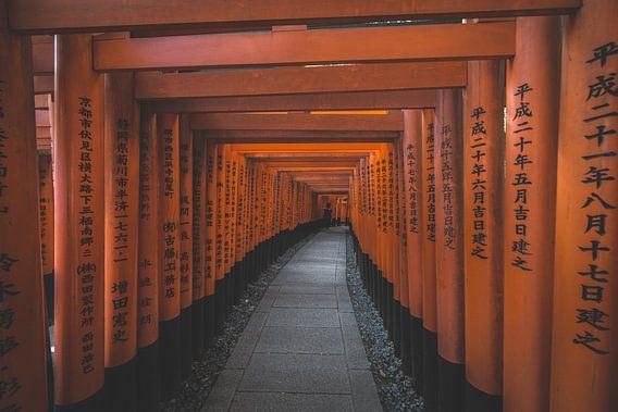 Fushimi-Inari-Taisha Shrine van Studio W&W