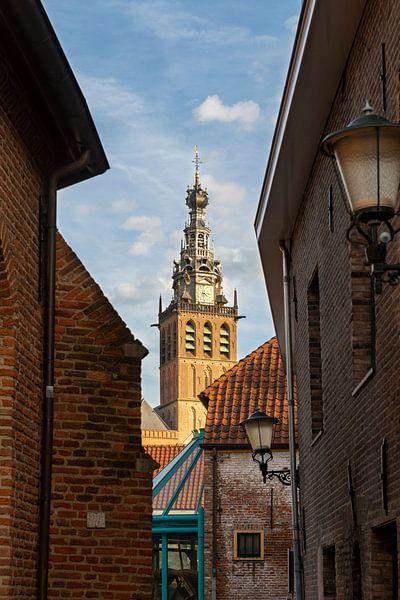 Doorkijkje naar de Stevenskerk Nijmegen van Maerten Prins