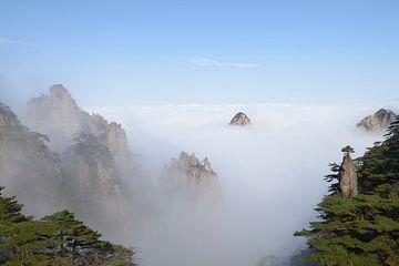 Gele Berg - Huang Shan, China von Peter Apers