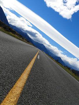 Road trip in Nieuw-Zeeland von J V