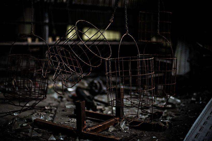 Verlaten oude, mijn in Duitsland van Cristel Brouwer
