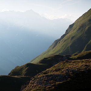 Swiss Alps van