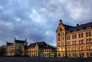 L'université d'Osnabrück dans le soleil du soir sur Norbert Sülzner