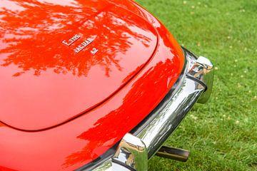 Jaguar E-Type Roadster achterzijde detail van Sjoerd van der Wal