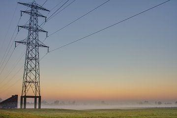 Elektriciteitsmast van Sander Eggen