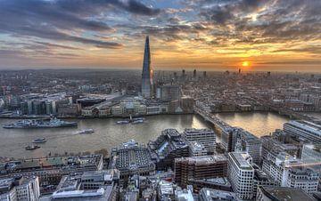 London Skyline sur Rene Ladenius