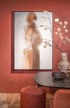 Photo de nos clients: portrait abstrait sur Carla Van Iersel