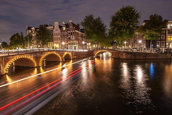 Leidsegracht Amsterdam van Cees Petter