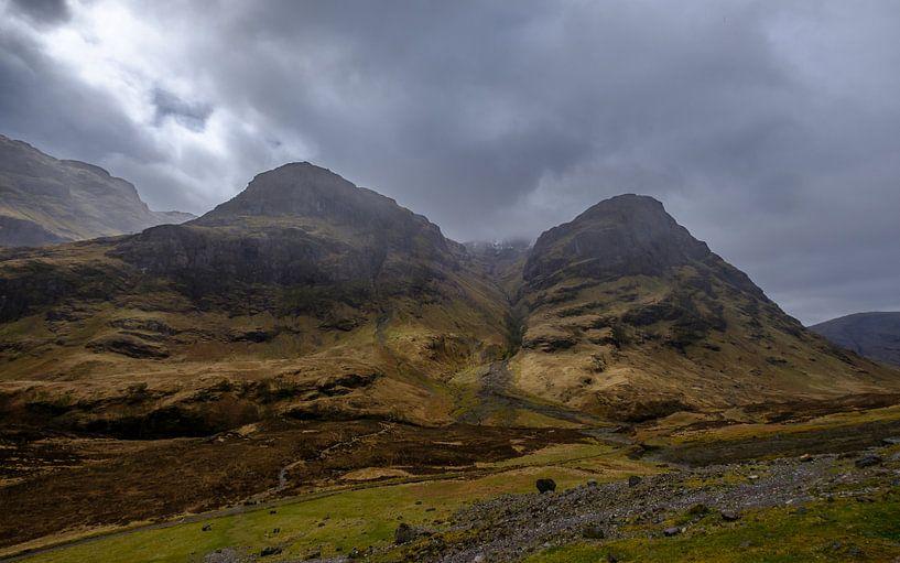 Lost Valley in Schotland van Koos de Wit