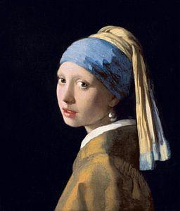 Meisje met de parel van Johannes Vermeer