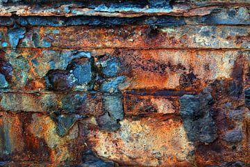 roest muur van Tatjana Korneeva