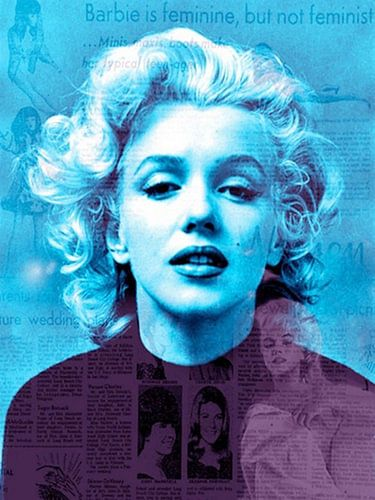 Marblue Marilyn Monroe | Marilyn Monroe Pop Art