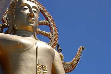 Gouden Buddha - Thailand - Koh Samui von Chantal Cornet