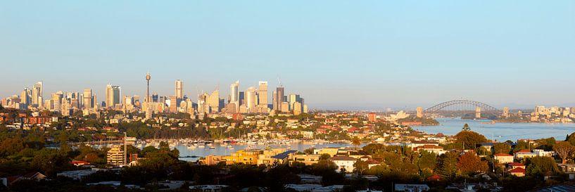 Panorama van Sydney van Rob van Esch