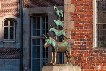 Bremer Stadtmusikanten, Bremen, Deutschland von Torsten Krüger