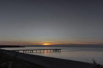 Sonnenuntergang am Meer von Andreas Stach